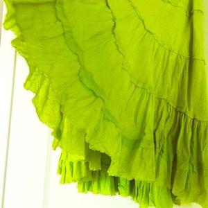 NWOT Green Skirt versatile any size